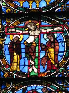 Crucifixion, Chartres Cathedral, France