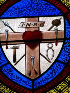 Crucifixion Instruments, Trinity Episcopal Cathedral, Davenport, IA