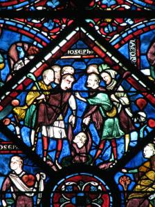 Joseph Thrown into a Pit, Chartres Cathedral, France