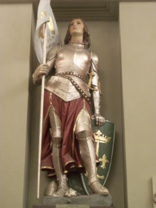 5. Joan of Arc, St. Louis Cathedral, New Orleans, Louisiana