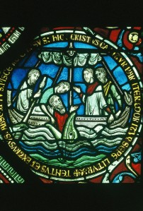 Jonah at Canterbury Cathedral, England