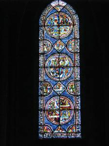 Mary Magdalene Window, Chartres Cathedral, France