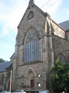 North Transept, Holy Cross Cathedral, Boston