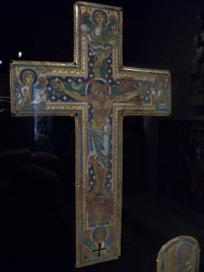 Belgian Reliquary Cross, Walters Art Gallery, Baltimore