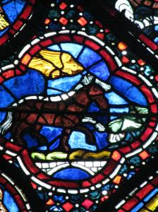 7. Horses, Noah Window, Chartres Cathedral