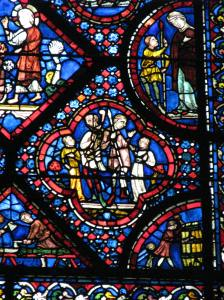 3. Carpenters, Coopers and Nephilim; Noah Window, Chartres