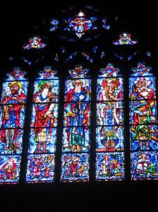Abel, Noah, Abraham, Melchizadek and Job, Princeton Chapel