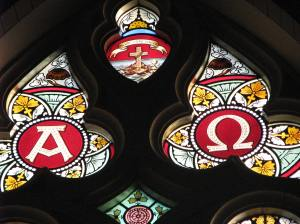 10. Alpha & Omega, St. Francis Xavier Basilica, Dyersville, Iowa