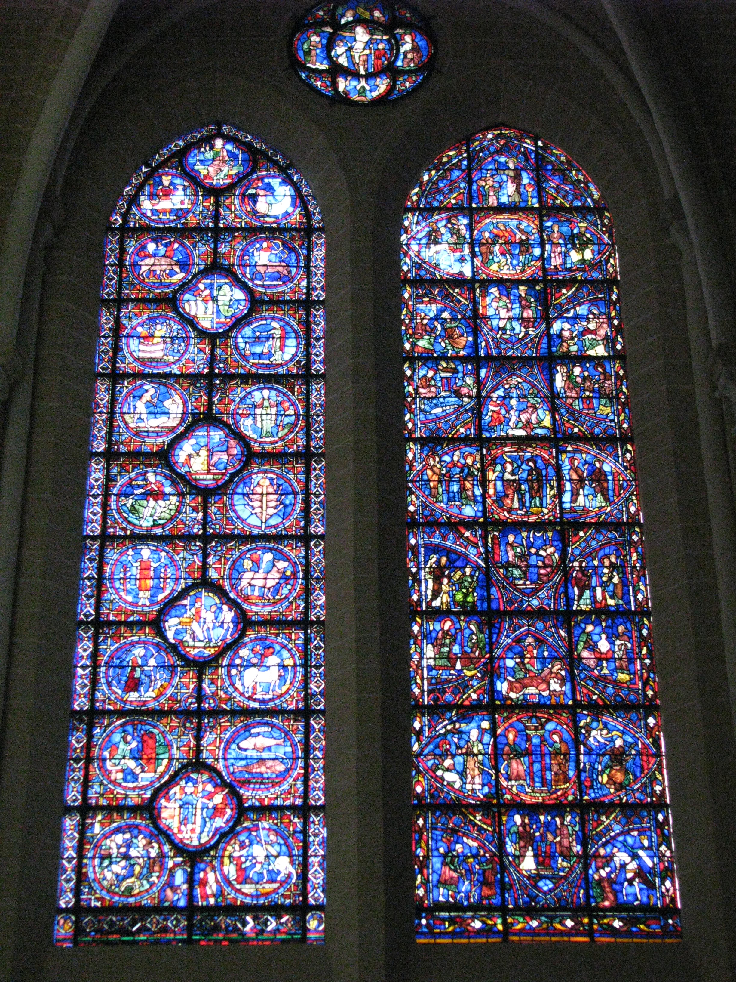 chartres cathedral interior rose window window chartres cathedral