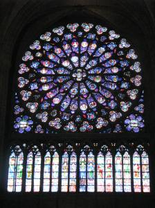 South Rose Window, Notre Dame of Paris