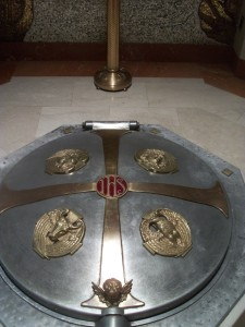Baptismal Font Cover, St. Matthew's Cathedral, Washington, DC
