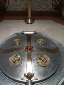 Baptismal Font Cover, St. Matthew's Cathedral, Washington, DC