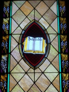 20. Bible in Mandorla, United Church of Christ, Iowa City, IA