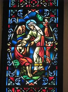 Good Samaritan Window, St. Mark's Episcopal Church, Grand Rapids, MI