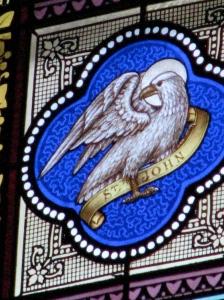 Eagle, Symbol for St. John the Evangelist; St. Francis Xavier Basilica, Dyersville, IA