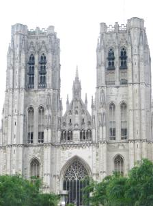 15. Saints Michael & Gudula Cathedral, Brussels, Belgium