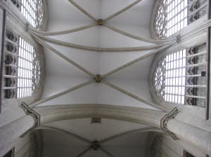 16. Ribbed Vaulting, Sts. Michael & Gudula Cathedral