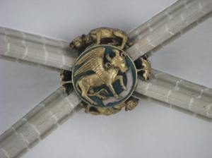 Winged Bull, Symbol of St.  Luke, Sts. Michael & Gudula Cathedral