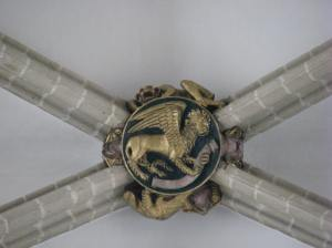 Winged Lion Boss, Symbol of St. Mark, Sts. Michael & Gudula Cathedral