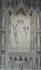 Christ in Mandorla, Washington, National Cathedral, Washington, DC