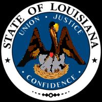 13. Louisiana's Seal, image courtesy of Wikipedia