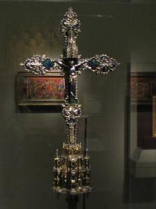 Silver Processional Cross, France, Walters Art Museum, Baltimore, MD