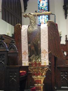 7. Eagle Lectern, St. Mark's Episcopal Church, Grand Rapids, MI