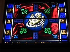 2. Eagle, Symbol for St. John, Trinity Cathedral, Davenport, Iowa