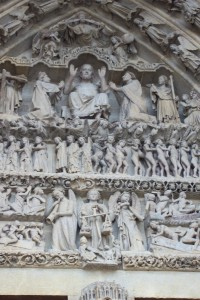 Last Judgment Detail, Amiens Cathedral, France