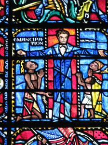 11. Abraham Lincoln and Emancipation, Freedom Window, Washington National Cathedral, DC