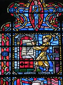 12. Martin Luther and the 95 Theses, Freedom Window, Washington National Cathedral, DC
