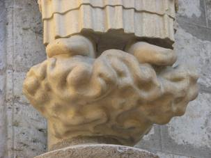 3. Peter's Pedestal on Chartres Cathedral's North Porch, France