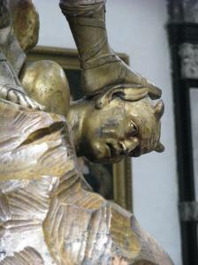 8. Satan Detail, Cathedral of Sts. Michael & Gudula, Brussels