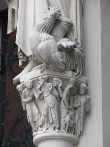 5. Peter's Rooster and Pedestal, Cathedral of St. John the Divine, NYC