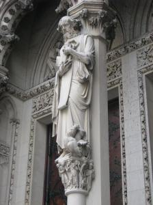 4. St. Peter, Cathedral of St. John the Divine, New York City