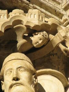 12. The Interceding Angel, Chartres Cathedral, France
