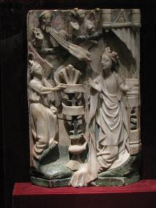 The Annunciation in Alabaster, Walters Museum, Baltimore, MDl