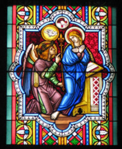15. Annunciation Panel, Cologne Cathedral, Germany