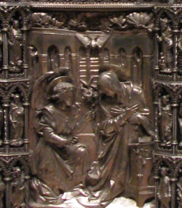 8. Wanamaker Altarpiece, Annunciation Panel, St. Mark's Episcopal Church, Philadelphia