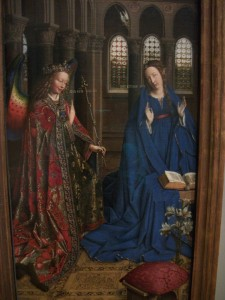 13. The Annunciation by Jan Van Eyck, National Gallery of Art, Washington, DC