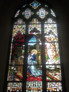 9. Annunciation Window designed by F.X. Zettler Studios, Cathedral of the Immaculate Conception, Denver