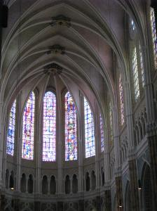 1. Chartres Cathedral, Choir and Apse, France