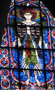 14. Angel of the Covenant, Chartres Cathedral, France
