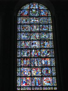 4. Life of Christ Window, Chartres Cathedral, France (click to enlarge)