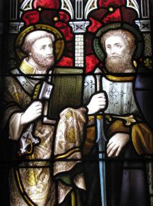 St. Peter (left) and St. Paul, All Saints Episcopal Cathedral, Milwaukee