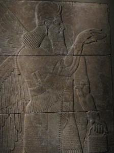 1. Winged Genie from Palace at Nimrud, Walters Art Museum, Baltimore