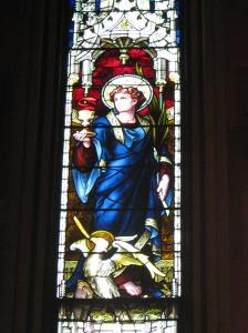 St. John Window, Cathedral of the Immaculate Conception, Albany, NY