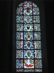 Jesse Tree Window, Chartres Cathedral, France