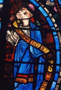 10. Prophet in the Jesse Tree Window, Chartres Cathedral, France