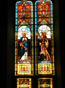 Peter & Andrew Window, Sacred Heart Cathedral, Davenport, IA